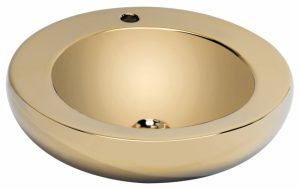 "186780 LAVABO GOLD 49.0x49.0x14.0 cm./19.3""x19.3""x5.5"" E850"