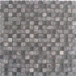 "185024 MOSAICO GREY-GLASS 29.3x29.3 cm./11.5""x11.5"" D880"