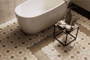 Forme grindų plytelės